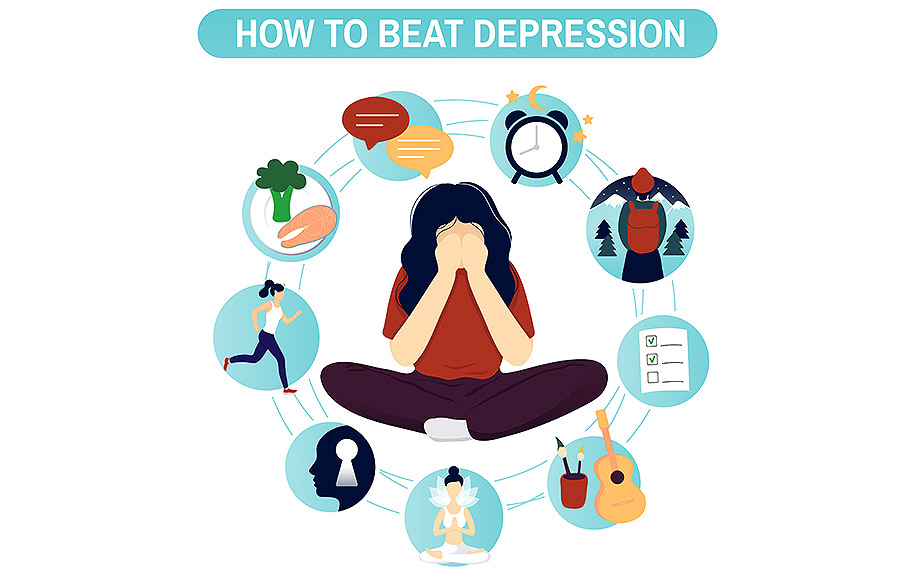 Treating depression in a new way with CBD oil