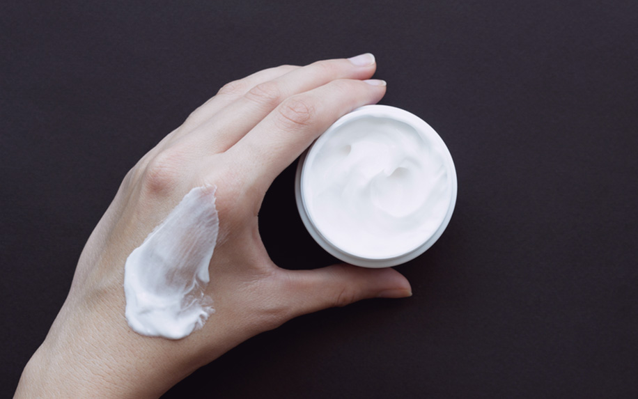 CBD lotion for skin condition