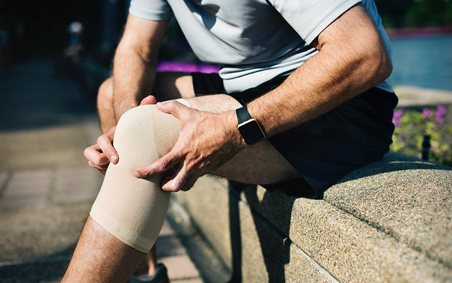 Cannabis infused topical creams for knee swelling and inflammation