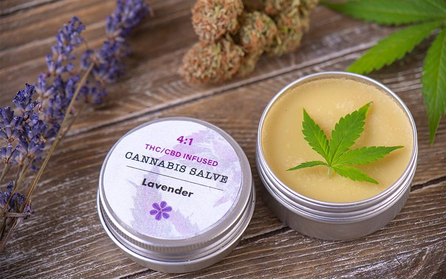 CBD topicals for treating itchy skin