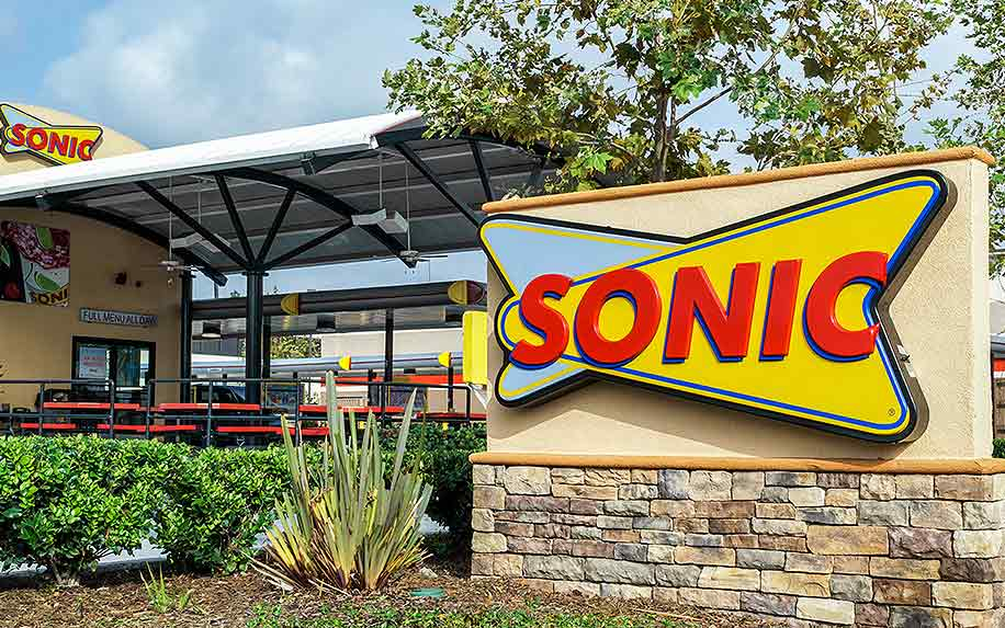 People smoking cannabis at Sonic fast food drive thru.