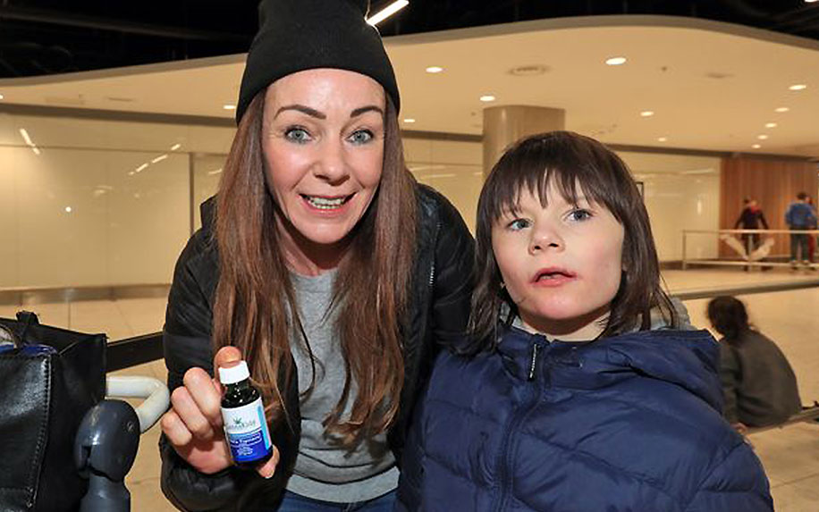 An Irish Mum fights to give her son with epilepsy CBD oil