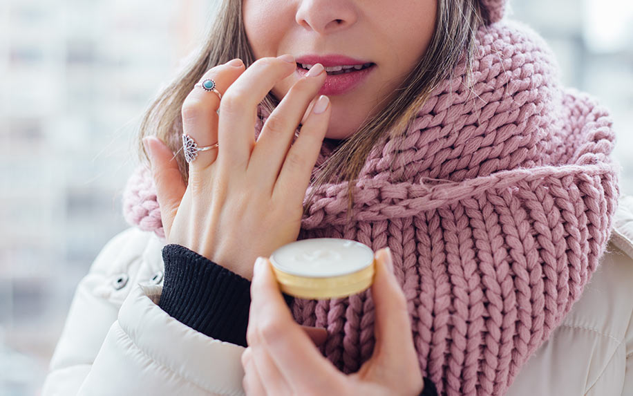 CBD creams used for treating fever blisters