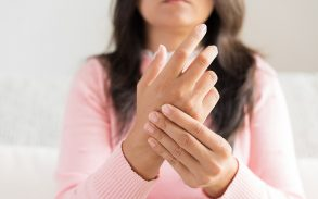 CBD being used to treat arthralgia joint pain.