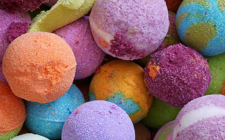 Learn about the benefits of CBD bath bombs.