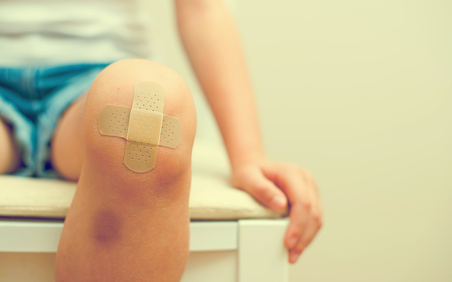 Discover if CBD oil can help your bad bruise heal faster.