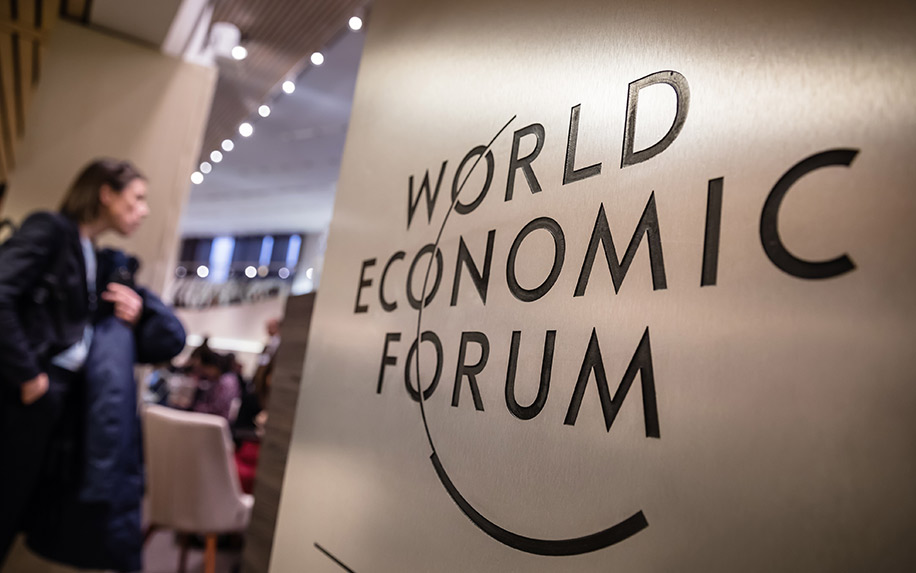 Cannabis is the talk of the town at the World Economic Forum at Davos.