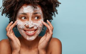 Try a cannabis face wash instead of popping your pimples.