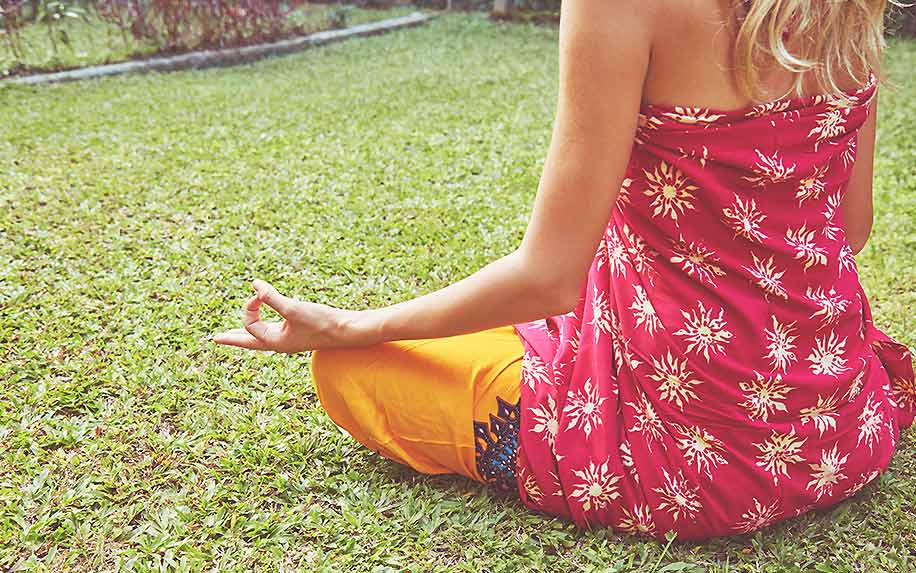 Cannabis is commonly used during meditation