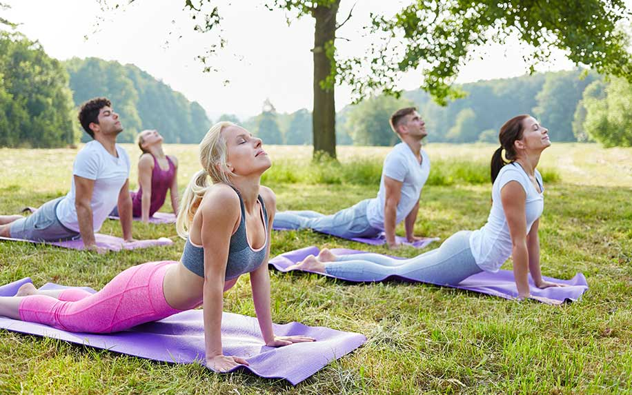Discover what a yoga retreat using cannabis is like.