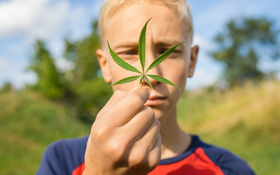 Tips on discussing cannabis with children.