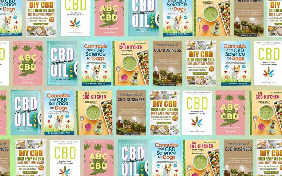 Top books on CBD and cannabis.