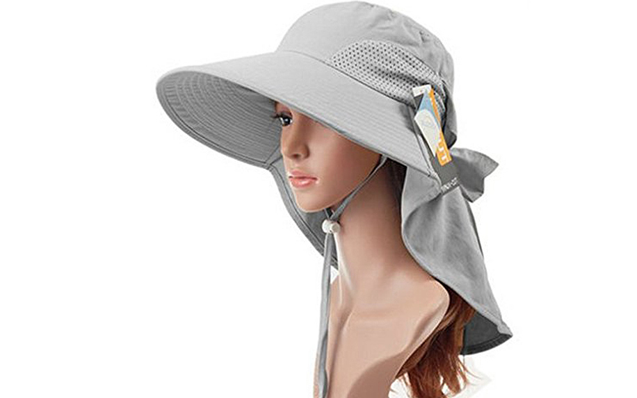 Wide Brimmed UV SPF 50+ Sun Hat from Auch