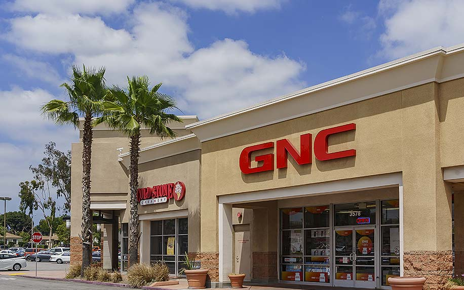 GNC selling CBD products.