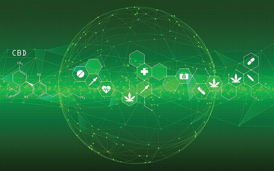 Cannabis within the blockchain.