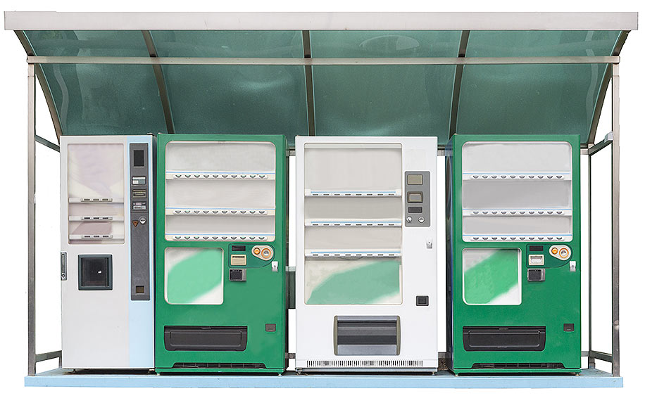 Cannabis vending machines.