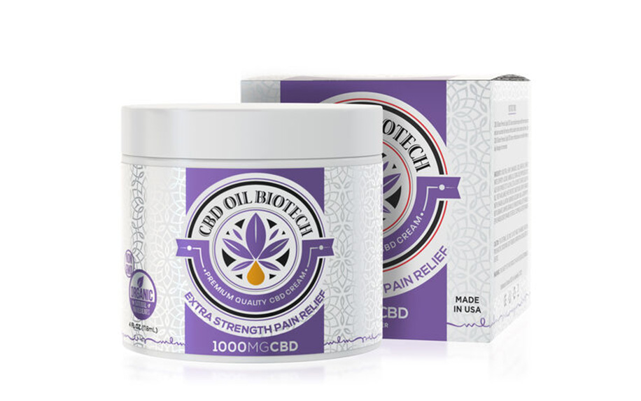 BioTech CBD Cream by Diamond CBD.
