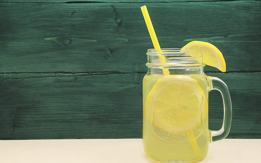lemonade infused with CBD.