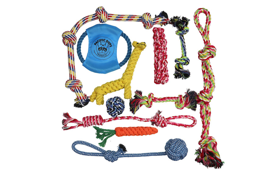 Dog Rope Toys for Aggressive Chewers by Pacific Pups Products.