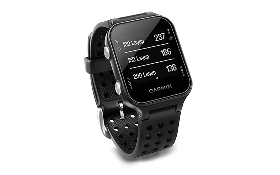 GPS Golf Watch with Step Tracking and Preloaded Courses from Garmin