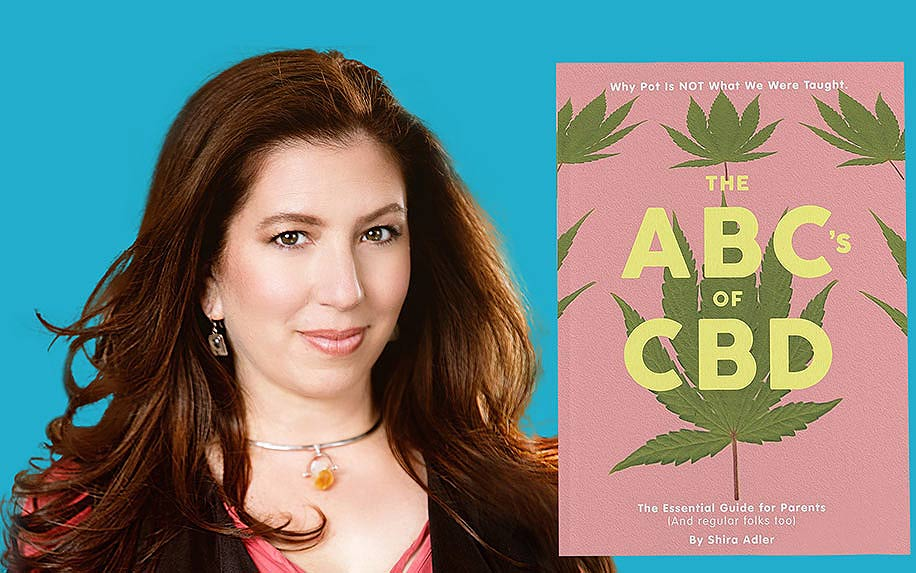 Author of ABCs of CBD Shia Adler.