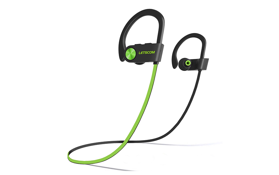Wireless Bluetooth Sport Headphones by Letscom.