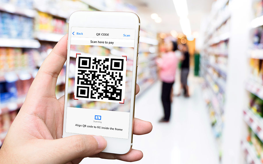 QR codes for cannabis skin care.