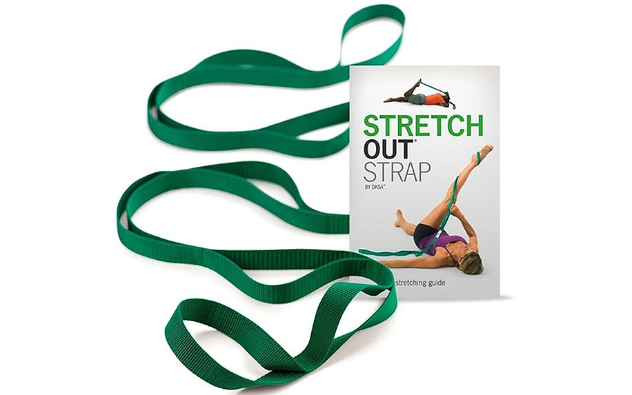 The Original Stretch Out Strap With Exercise Book by OTPT