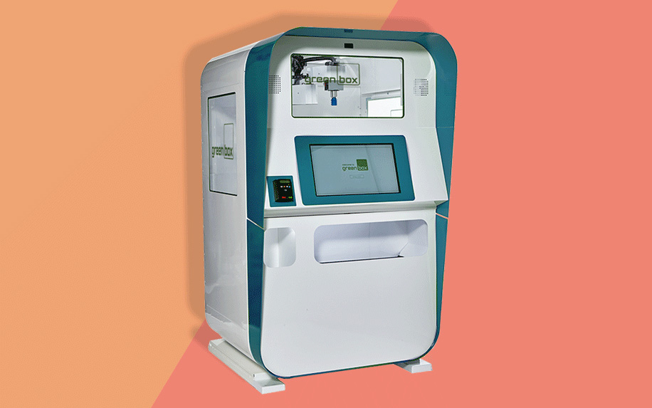 Automated CBD kiosk