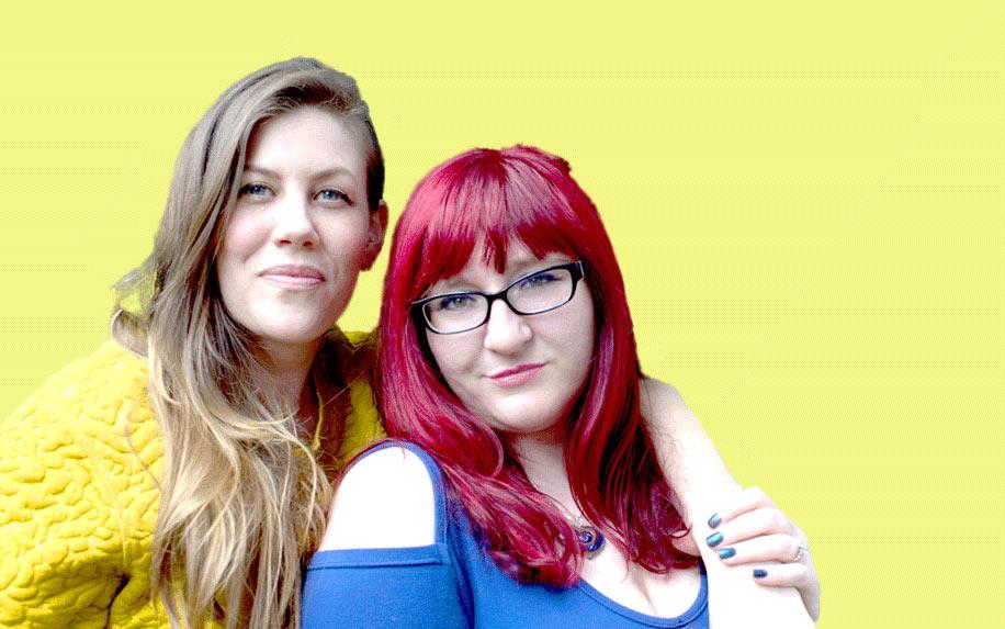 Lisa A. Snyder and Samantha Montanaro of Tokeativity