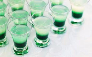 Shots with cannabis in them.