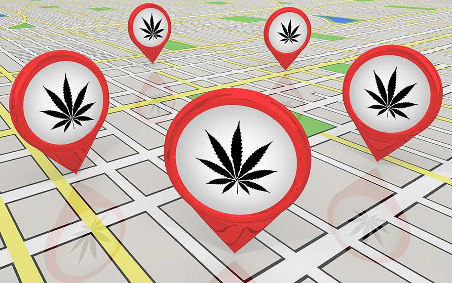 5 ways to spot illegal cannabis stores