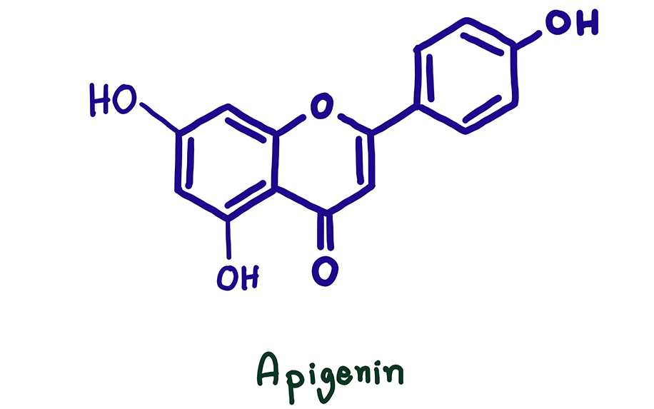Cannabis flavonoid: Apigenin