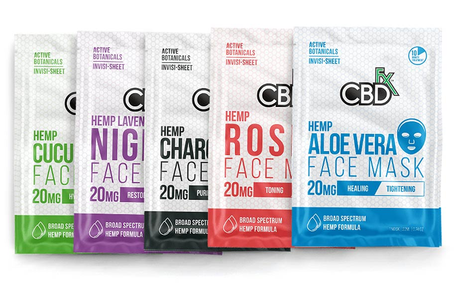 CBDfx CBD Face Mask Bundle