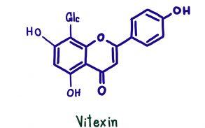 Vitexin the cannabis flavonoid
