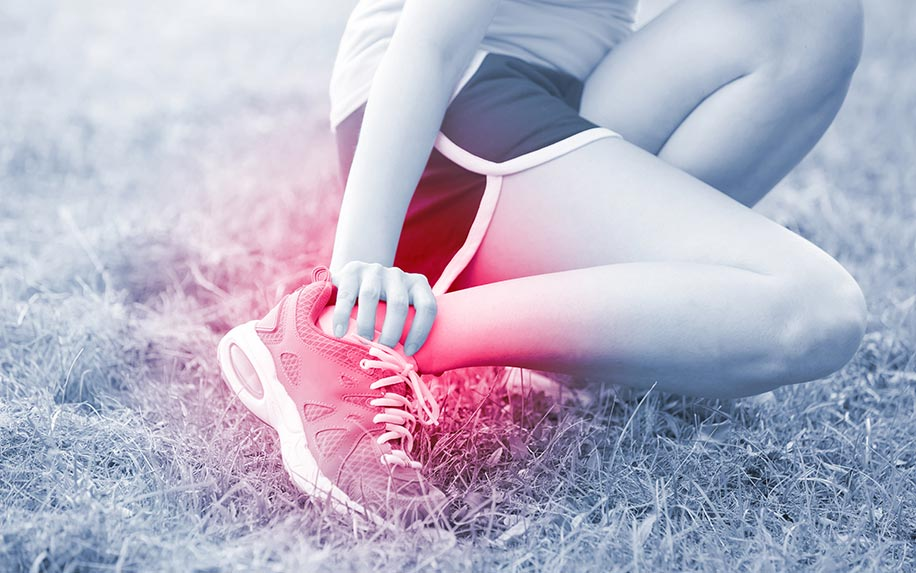Treating sport injury with the help of cannabis massage
