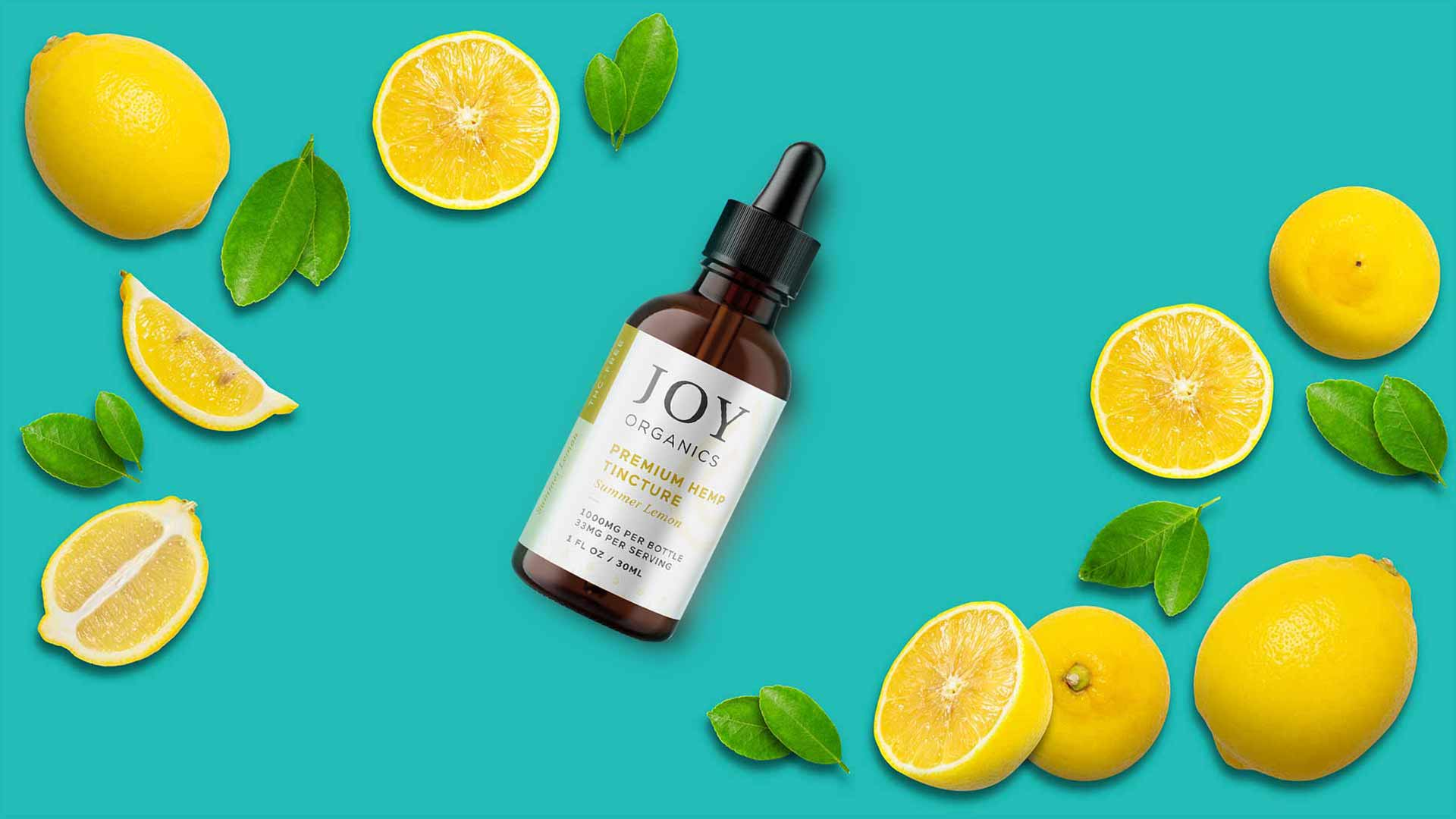 Joy Organics 1000mg hemp tincture