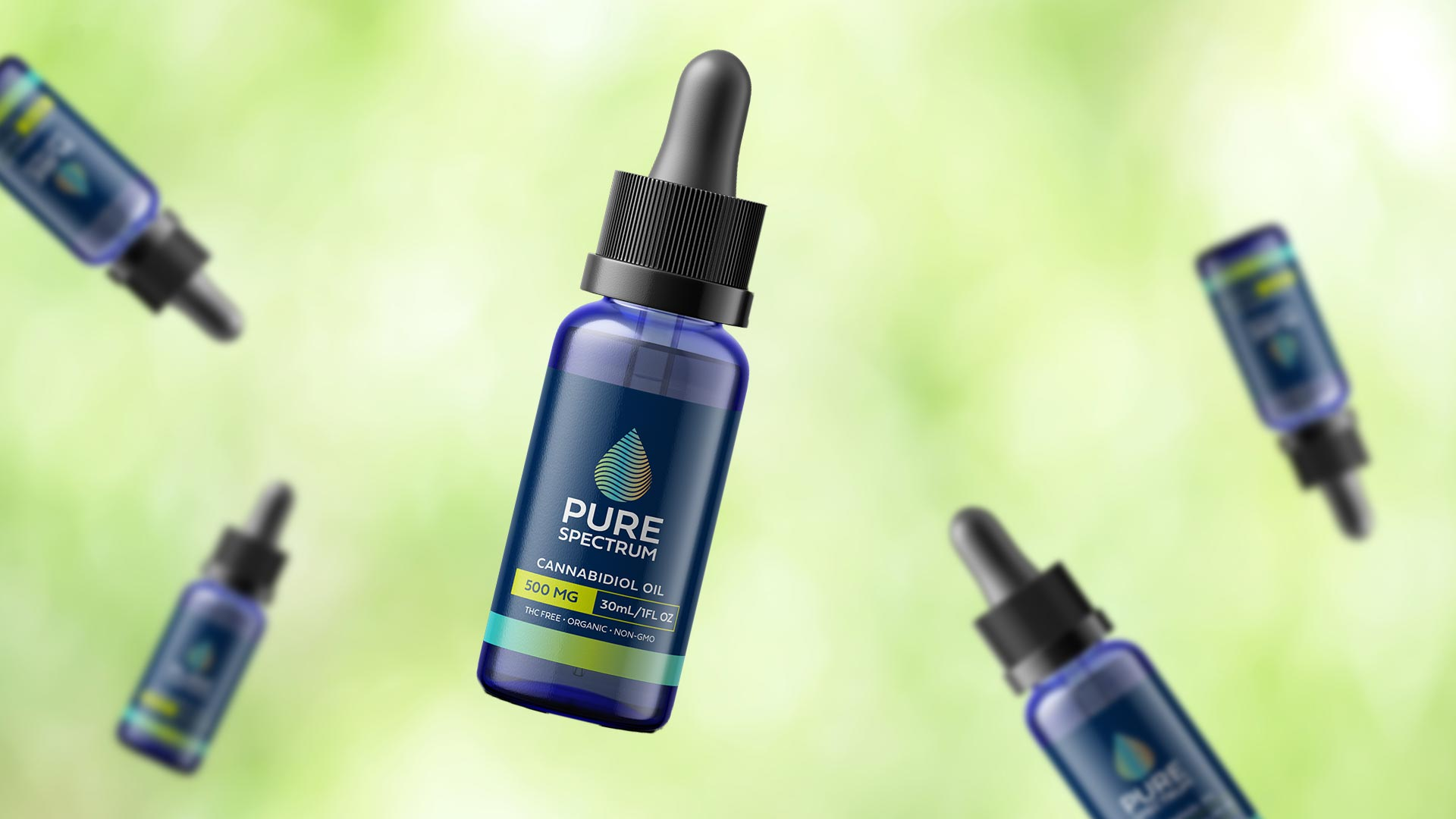 Pure Spectrum 500mg CBD Oil Hemp Tincture