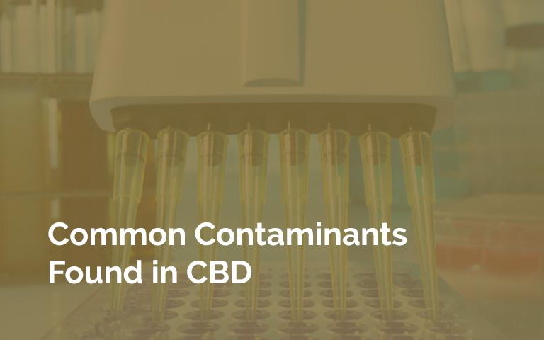 CBD Contaminant Lab Testing Instruments