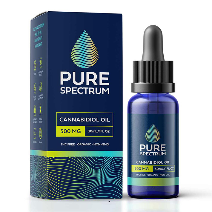 CBD Hemp Oil Tincture by Pure Spectrum