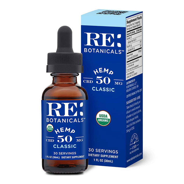 RE: Botanicals Hemp Classic CBD Oil Tincture 1500mg