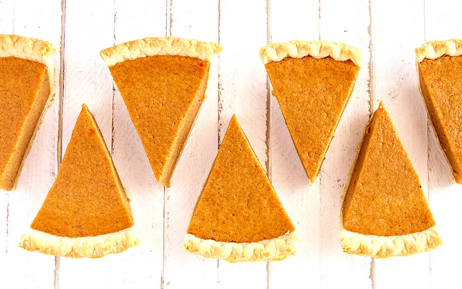 A calmer Thanksgiving with a CBD pumpkin pie recipe