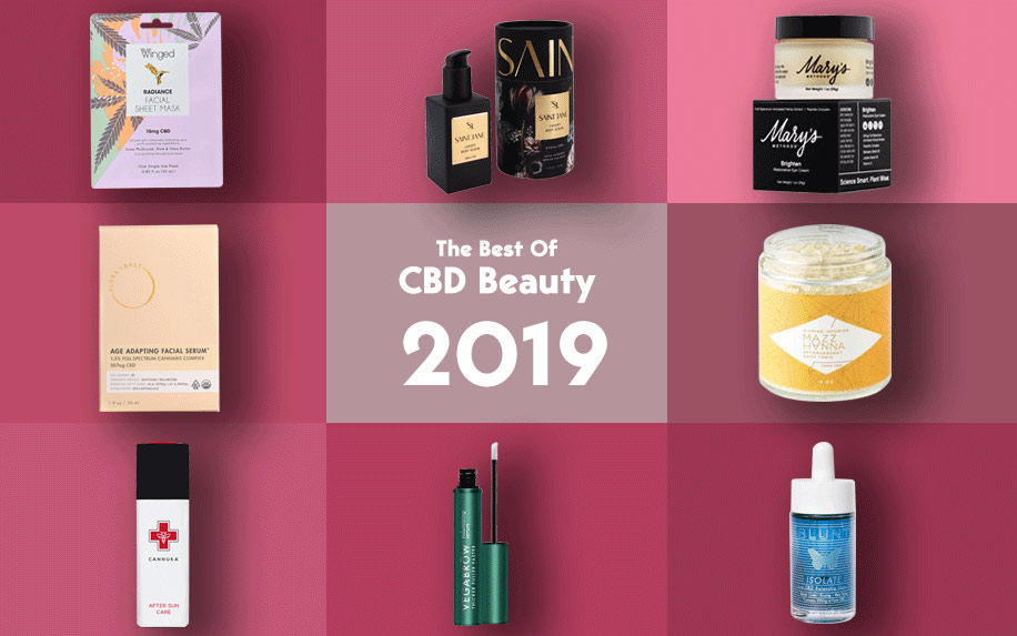 Tried and tested beauty products by cannabisMD 2019