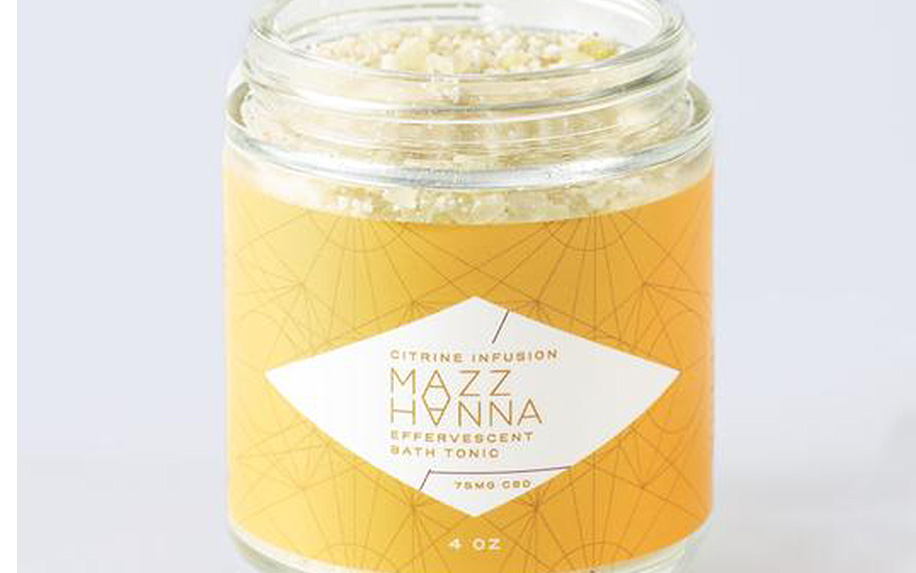 Mazz Hanna Beauty CBD Bath Tonic