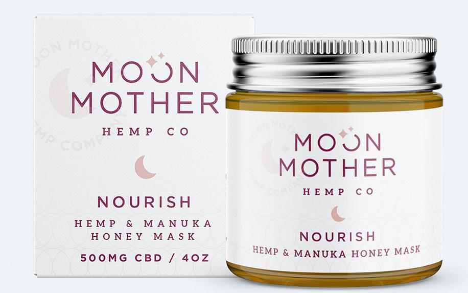 Nourish Hemp & Manuka Honey Mask by Moon Mother Hemp Co.