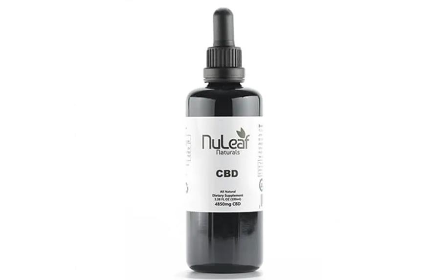 4850mg Full Spectrum CBD Oil, High Grade Hemp Extract by NuLeaf Naturals