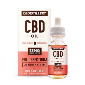 Full Spectrum CBD oil tincture from CBDdistillery