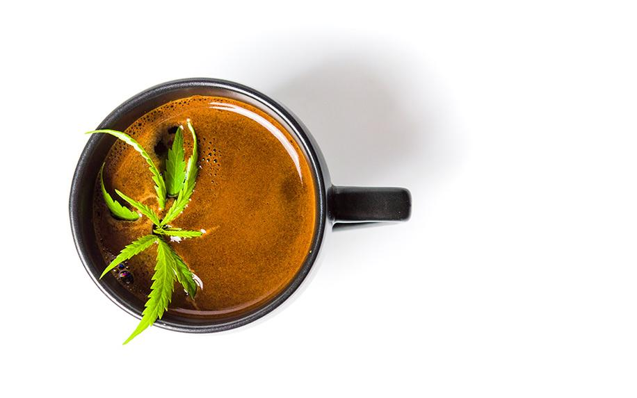 Read This Before You Mix Cannabis and Coffee